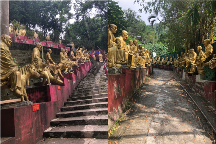 Buddhas and steps.png