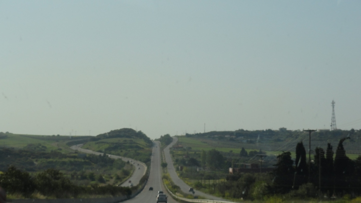 On the way to Halkidiki