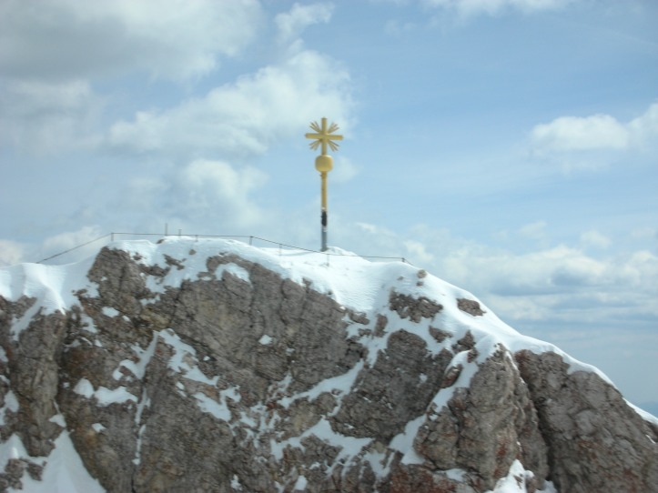 Highest point on German Alps