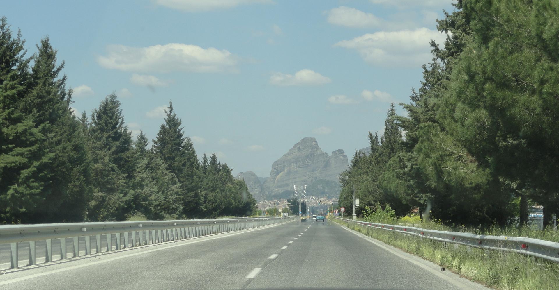 Approaching Meteora