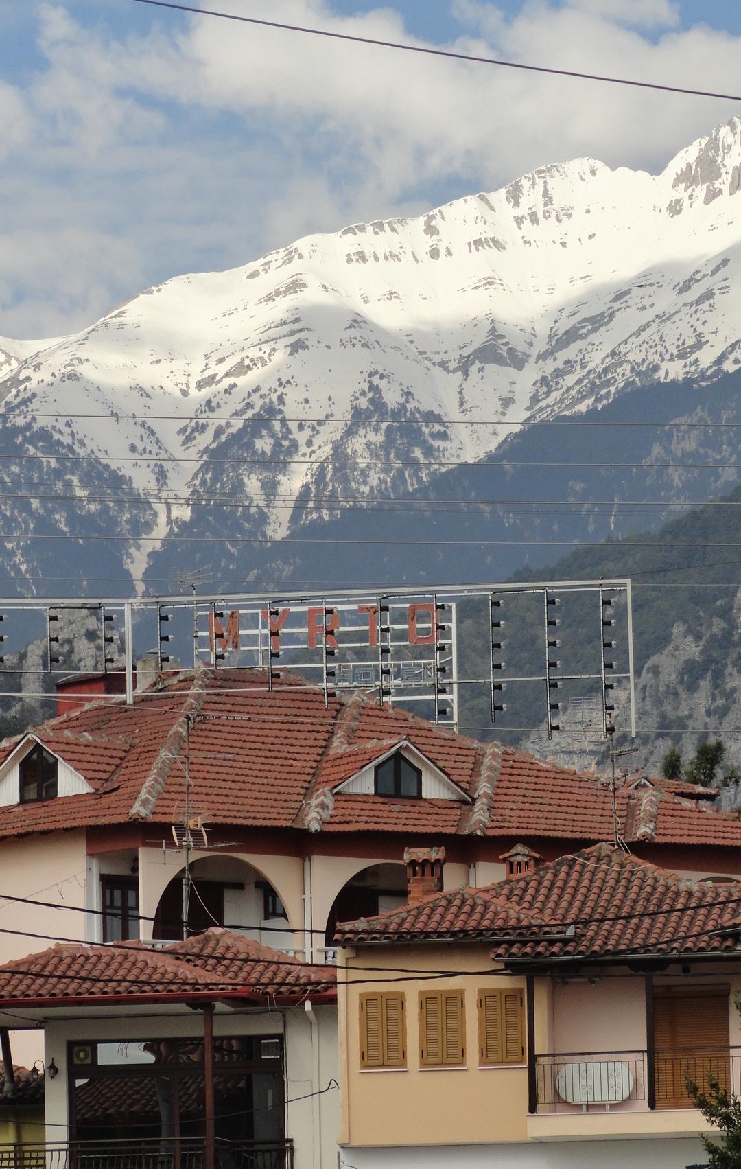 Mount Olympus in Litochoro