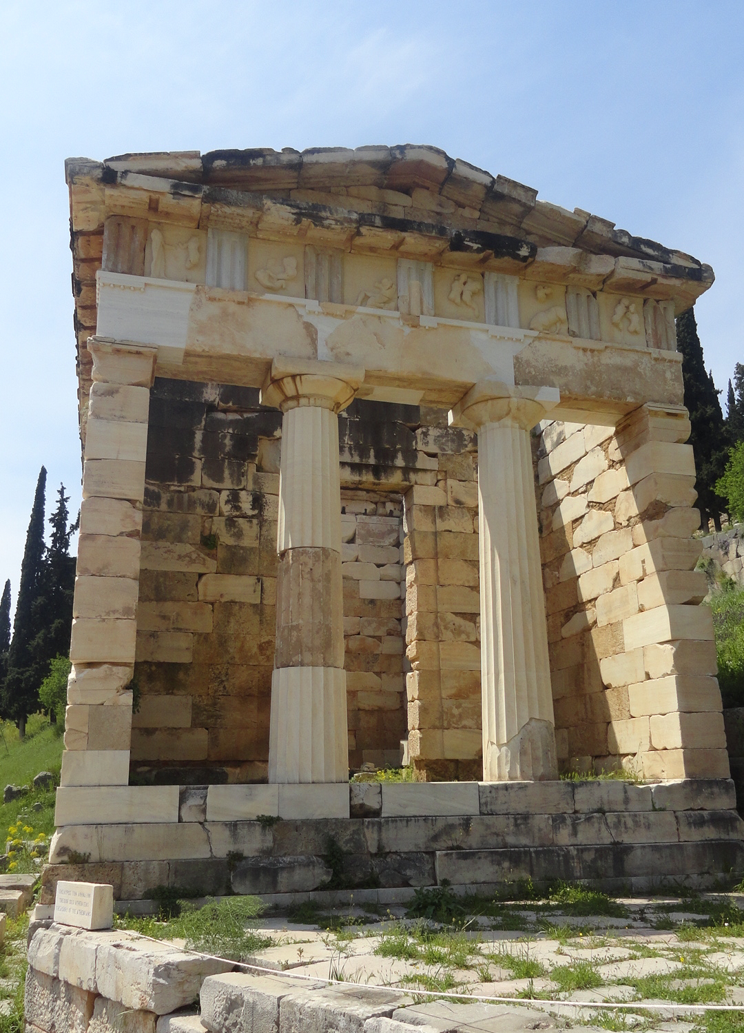 Treasury of Athenians_1
